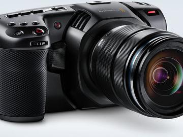 Blackmagic Pocket Cinema Camera 4K + Ronin S +  Nucleus N