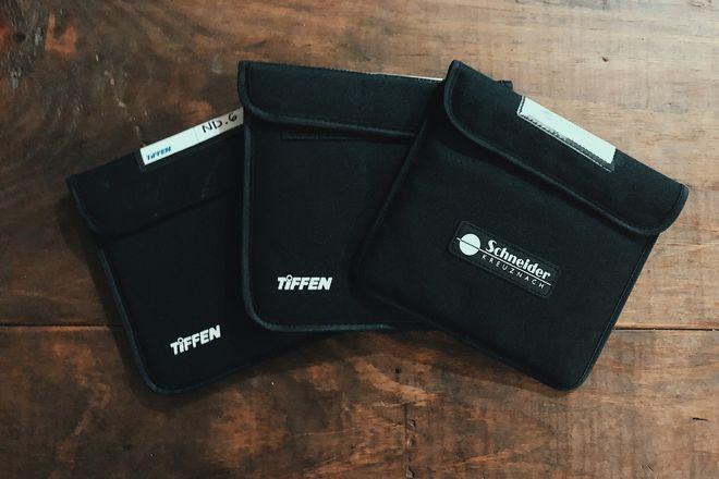 Tiffen 6.6x6.6 Neutral Density Filter 1.2, 0.6, Schneider 6.