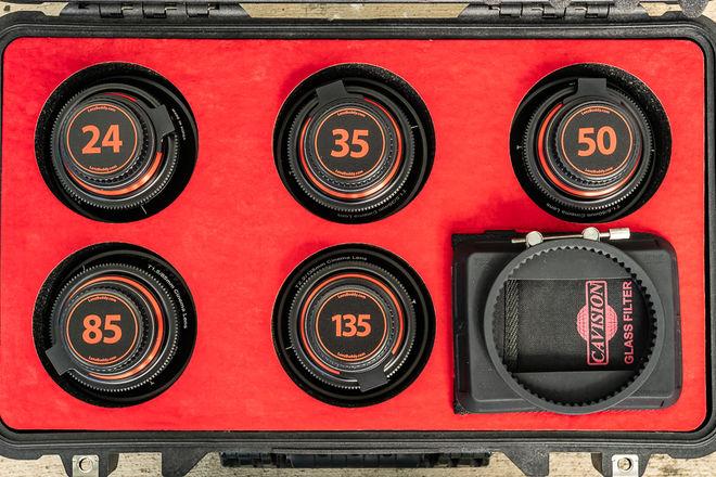 Rokinon XEEN Lens Set Cinema Primes
