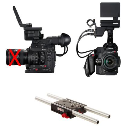 Canon C300 Mark II Basic Package with Rokinon Cine lenses