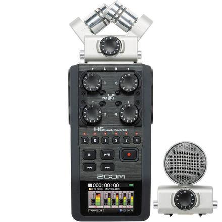 Zoom H6 Handy Recorder - Field Audio Kit