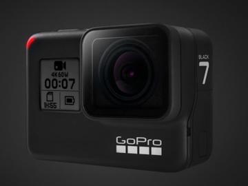 Rent: GoPro Hero 7 Black - 4 Batteries & 2 x media, + kit