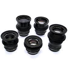 Contax Zeiss Prime Lens Kit (24mm, 35mm, 50mm, 60mm, 85mm)