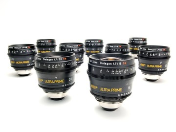 Rent: Zeiss Ultra Prime 6 Lens Set