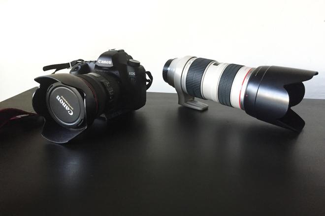 Canon 5D Mark II Package (2 Lenses, Flash, Backpack)