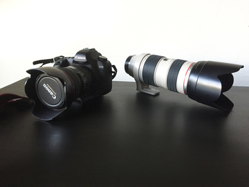 Rent: Canon 5D Mark II Package (2 Lenses, Flash, Backpack)