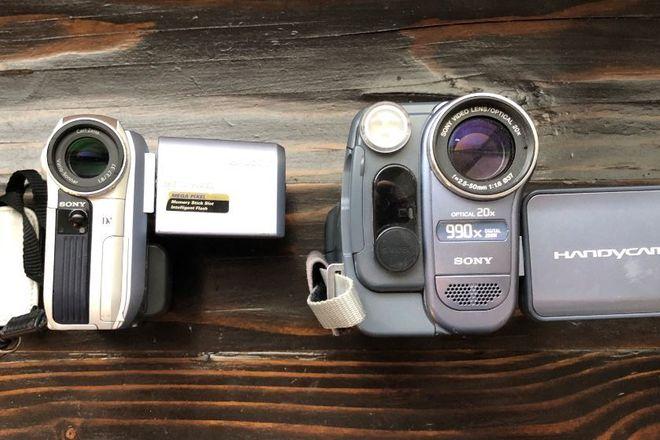 HI-8 // MINI DV // 2 Camera Bundle