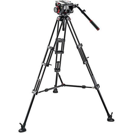 Manfrotto Tripod (509HD Head & 545B Aluminum Tripod)