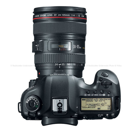 Canon EOS 5D Mark III With Batteries & Lens
