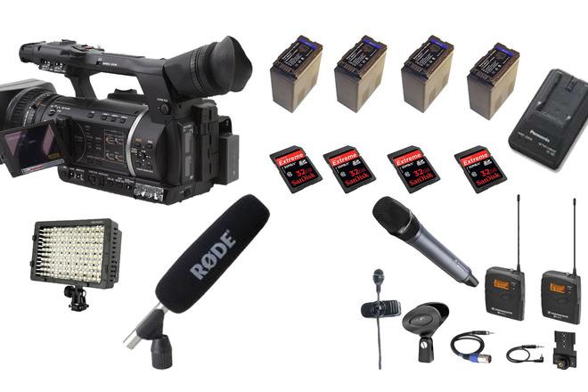 TV / ENG full kit camera (SDI, FULL HD, SD CARD)