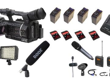 Rent: TV / ENG full kit camera (SDI, FULL HD, SD CARD)