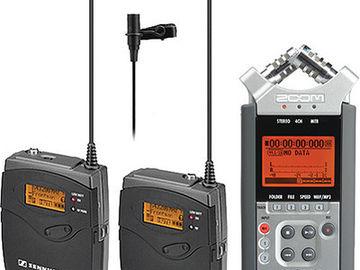 Indie sound kit, Zoom H4N and Two Sennheiser G3 Lavs