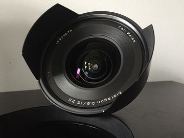 Zeiss 15mm f2.8 Distagon ZE for Canon