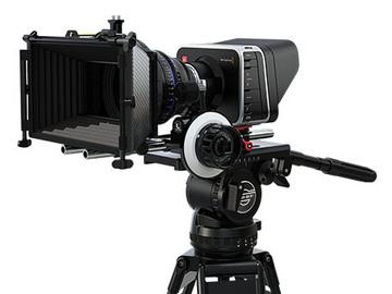 Rent: Blackmagic Cinema Camera 4K + 3x Rikonon Cinema lens + more