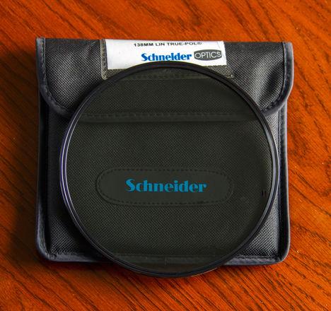 Schneider 138mm unmounted True-Pol Linear Polarizer Filter