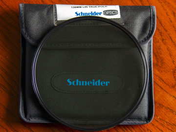 Schneider 138mm unmounted True-Pol Linear Polarizer Filter