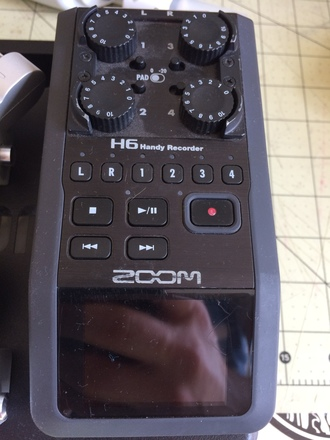 Zoom H6 w  XY &  Mid-Side Microphones