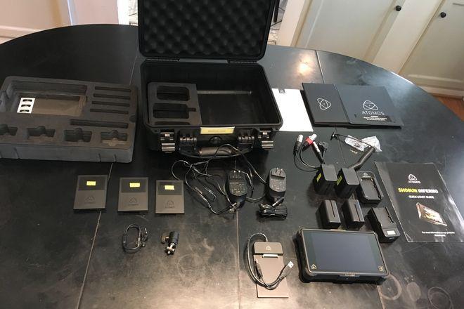 Atomos Shogun Inferno Kit+4 Batteries+3 SSD Drives, 1.5TB