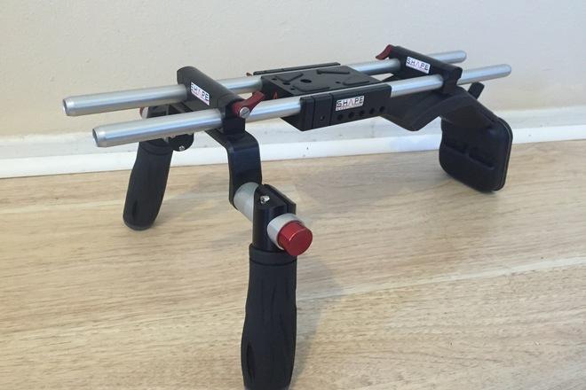 Shape handheld rig for C100/C300/C500