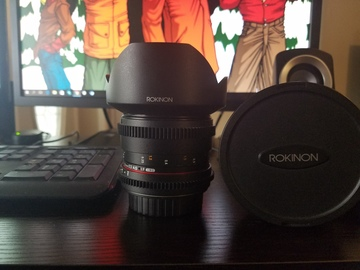 Rent: Rokinon 14mm Cine EF Lens