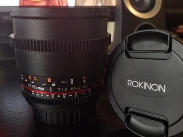 Rent: Rokinon 85mm Cine EF