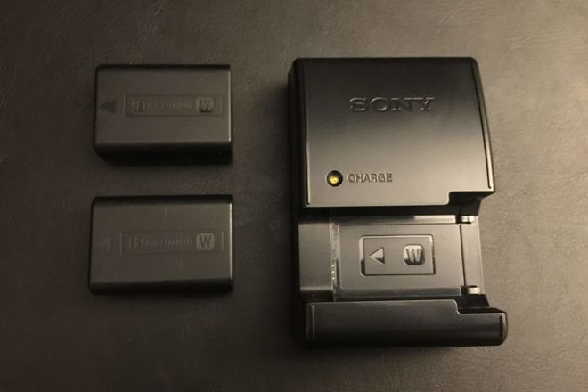 (2) Sony NP-FW50 Lithium-Ion Rechargeable Battery (a7rii)