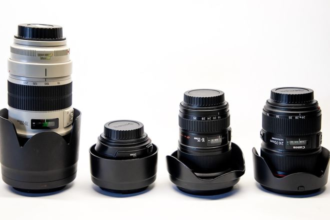 Canon L series lens set. ( 16-35 24-70 70-200 50 )