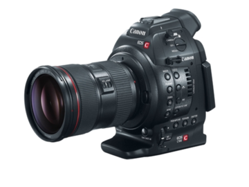 Canon C100 with Lens!