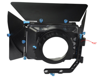 Rent: Mattebox - 15mm rod based swing-away, 2 stages, 4x4 or 4x5.6