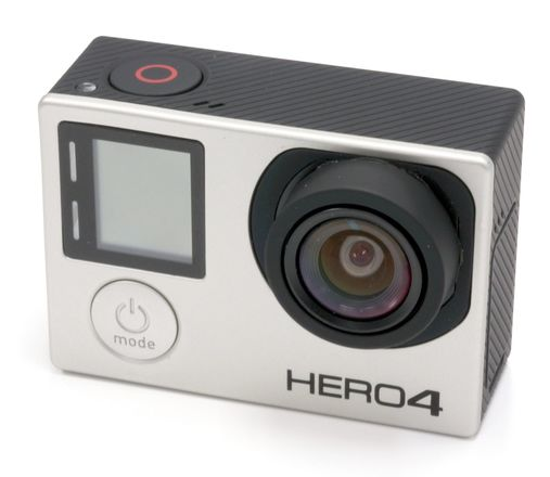 GoPro HERO4 Black w/ PeauPro82 (modified no distortion lens)