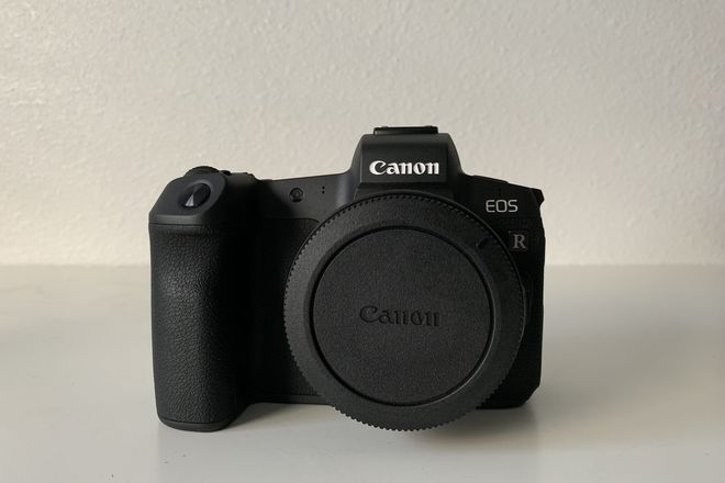 Canon EOS R w/ EF Adapter