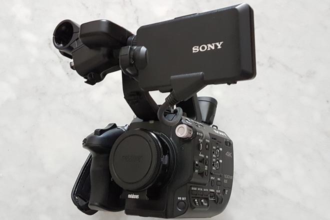 Sony FS5 4k Camera Basic Package w/ EF Adapter