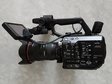 Rent: Sony FS5 4k Camera Premium Package w/ 2 Lenses + Accessories