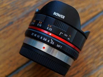 7.5mm f/3.5 Ultra Wide-Angle Fisheye Lens for Micro 4/3