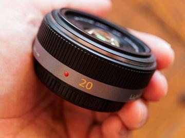 Rent: Panasonic LUMIX G 20mm f/1.7 ASPH. Lens