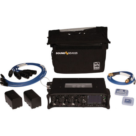 Sound Devices 633 Kit w/ Boom and 3 Lav Kits