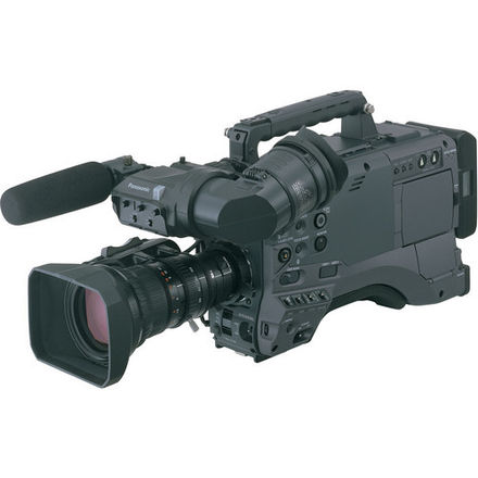 "Panasonic AG-HPX500 2/3""  P2 Camcorder W/LENS"