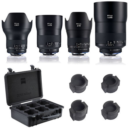 Zeiss Milvus Prime Set 21 35 50 85