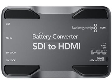 Rent: BLACKMAGIC - BATTERY CONVERTER - SDI TO HDMI
