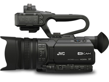 Rent: JVC GY-HM170UA 4KCAM Compact Professional Camcorder with Top