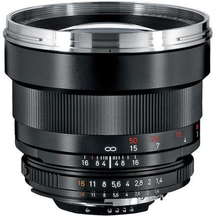 Zeiss 85mm F/1.4 Planar ZF T* AIS Manual Focus Lens For Niko