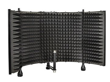 Rent: Pro Audio Desktop Adjustable Acoustic Microphone Isolation S