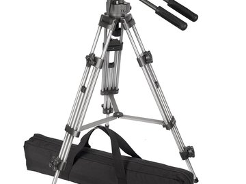 Rent: Ravelli AVTP Professional 75mm Tripod w/ Fluid Head