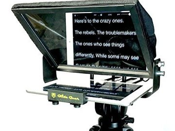 Rent: Glide Gear Adjustable iPad Smartphone Teleprompter w/ Beam S