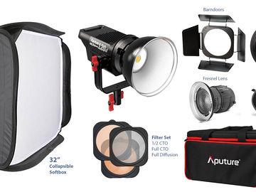 Aputure Lightstorm 120D + FULL ACCESSORIES 2/2