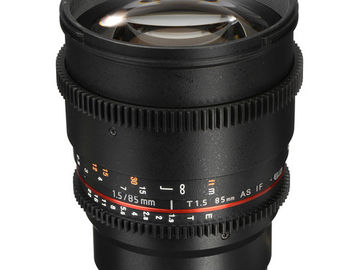 Rokinon Cine DS Lens Set (24mm and 85mm) Sony E-Mount
