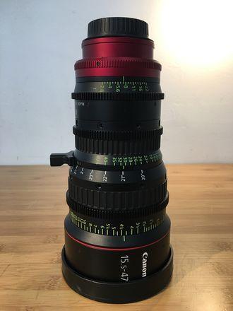 Canon CN-E 15.5-47mm T2.8 L S