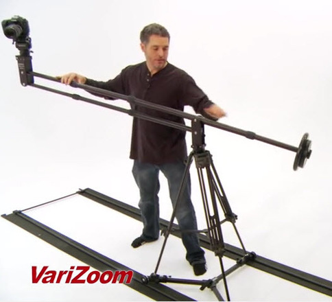 Jib, Tripod, Slider Dolly by VariZOOM