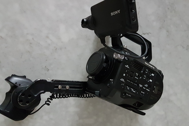 Sony FS7 4k Camera Basic Package w/ EF Adapter