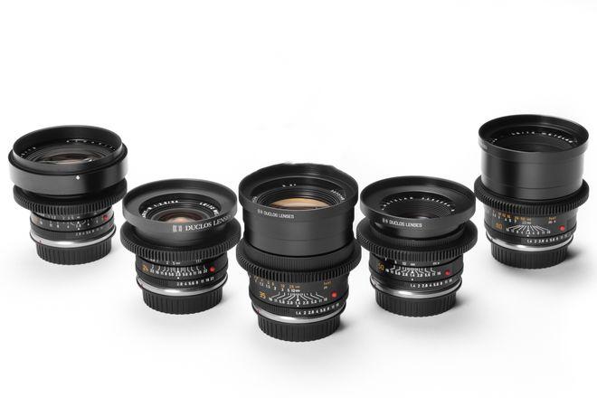 Leica R 6 Lens Set Summilux Duclos Cine Mod